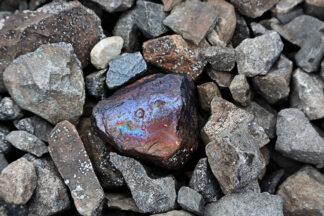 """Fotokonst """"One of a kind"""" - mineral bland stenar, skapad av Kazemir för Picture That"""